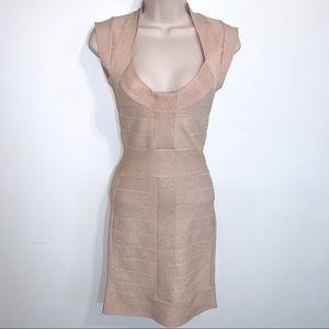 French Connection 0 Blush Bandage Dress
